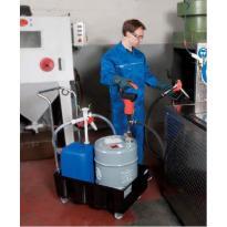 Plnění strojů, dávkování emulze